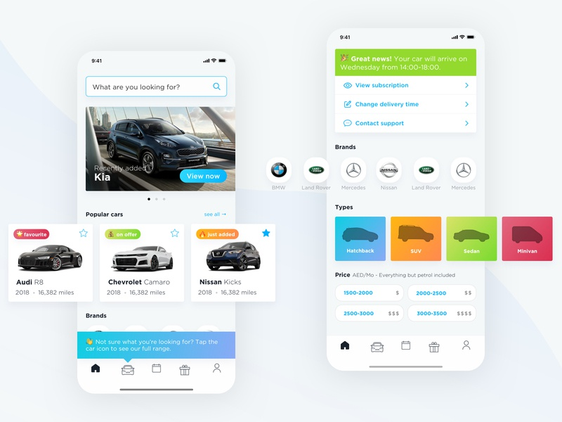 Invygo - Car Subscription Home Page