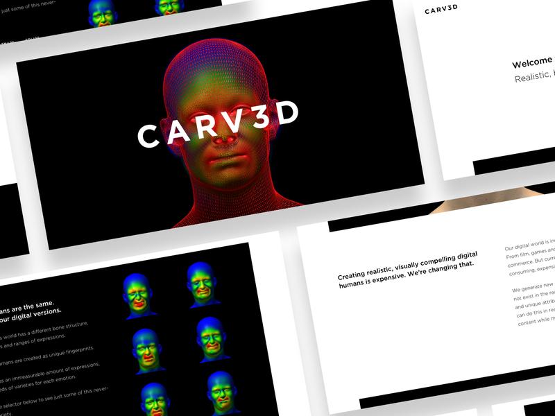 CARV3D - Digital Human Generation