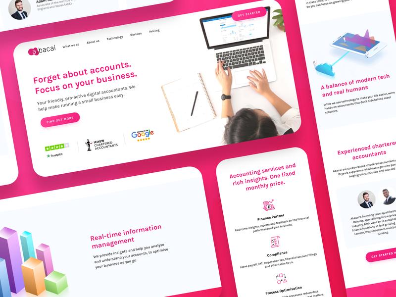 Abacai - Digital Accountancy Website