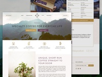 The Specialty Coffee Company Website