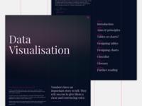 Data Visualisation Website