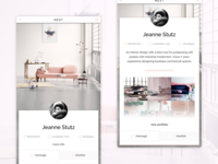 Nest Interior Design User Profile