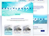 Wasteland Ski Homepage