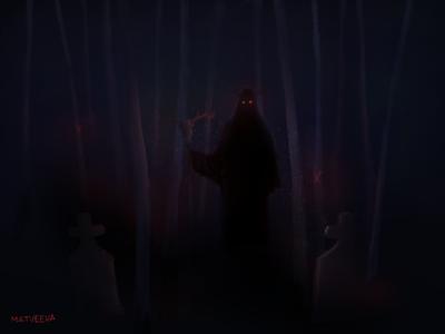 Demon in darkness | Concept Art