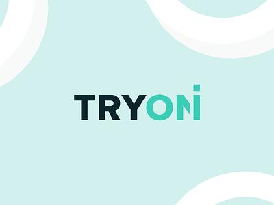 TRYON flat identitydesign branding typography logotype logo design