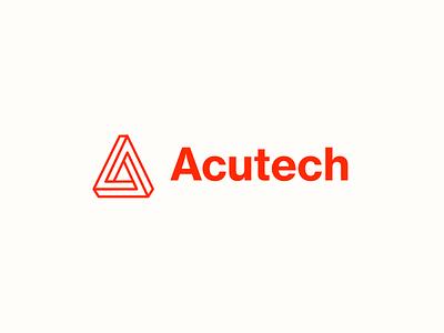 Logo Acutech logoset logotypes logos designlogo type design logotype designer icon logodesign branding letterlogo letter design logotype design logotype logo