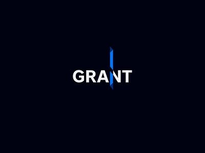 Logotype Grant idenity logo designlogo logotype design logodesign logos identitydesign branding logotype design