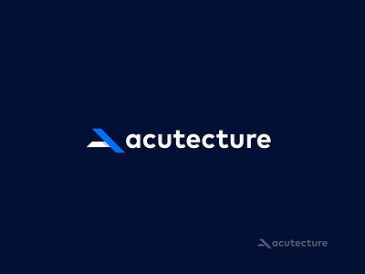 Logotype Acutecture idenity designlogo logodesign logotype design branding identitydesign logo logotype design