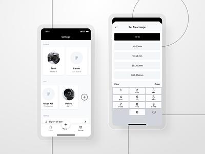 Afilm - Add camera ui cards bottom sheet add new mobile app design mobile app mobile design visual design ui design uxui