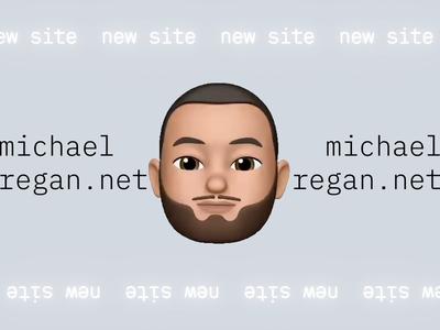 new site for 2019 emoji web design portfolio website
