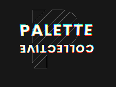 Palette.is Hero Interaction website design ui ux website web design interaction design interaction animation logo branding design 3d animation 3d mouseover hover