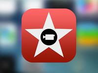 iMovie For iOS 7 Icon Concept