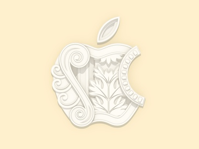 Apple Via del Corso illustration c4d today at apple negozio roma retail apple rome via del corso apple store