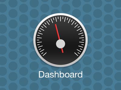 OS X Yosemite Dashboard Icon Concept
