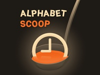 Alphabet Scoop Podcast Art