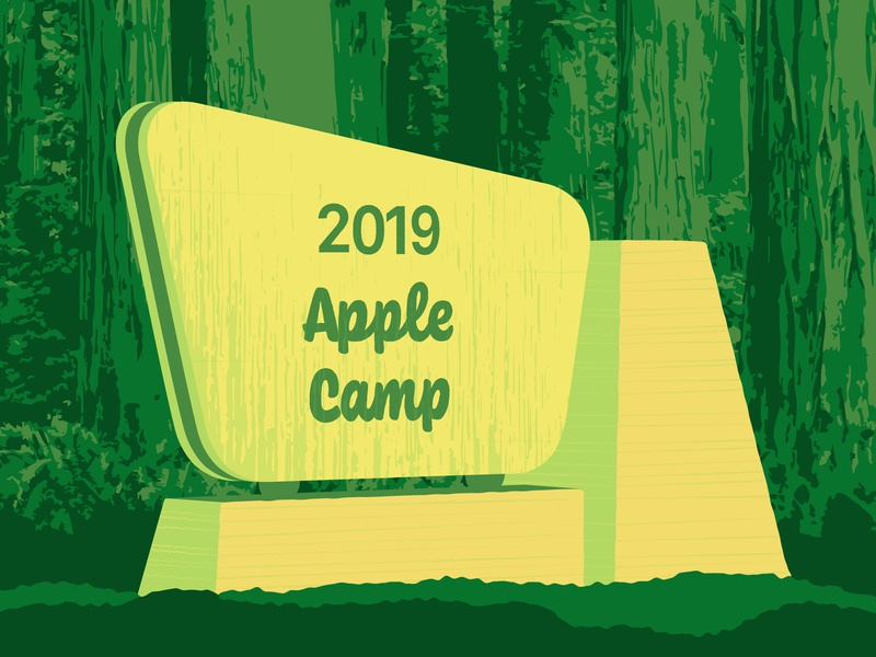 2019 Apple Camp national park today at apple apple store park signage national forest wpa apple camp