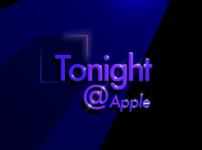 Today at Apple — Tonight