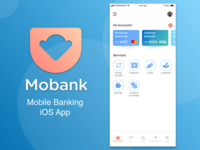 Dashboard For Mobile Banking iOS App