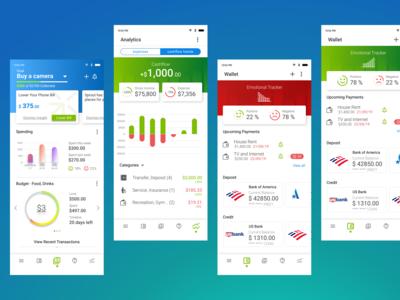 Money Management App UX/UI Design