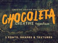 Free Chocoleta Fonts & Graphics