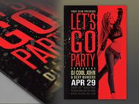 Minimalistic Party Flyer