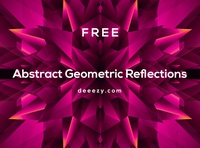 4 Free Abstract Reflections reflections decorative free shapes free vector vectors vector shapes geometric abstract deeezy free graphics freebie free