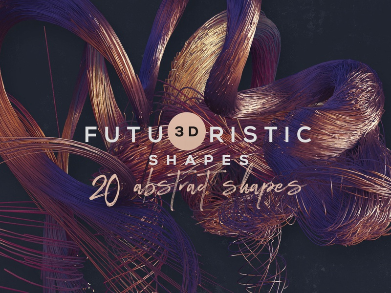 3D Abstract Shapes 18 Deeezy decorative futuristic abstract shapes png free shapes 3d shapes deeezy free graphics freebie free