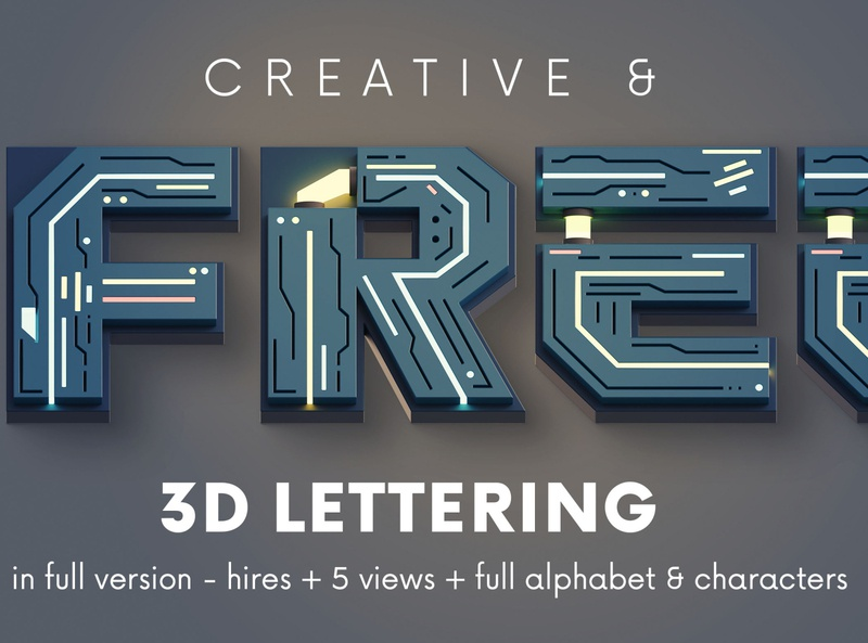 Free futuristico 3d lettering deeezy futuristic 3d typography 3d lettering 3d letters freebies free typography deeezy free font font free graphics typography freebie free