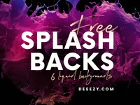 Amazing FREE 3D Splash Backgrounds 3d backgrounds liquid backgrounds free downloads backgrounds creative artistic liquid splash free textures free backgrounds deeezy free graphics freebie free