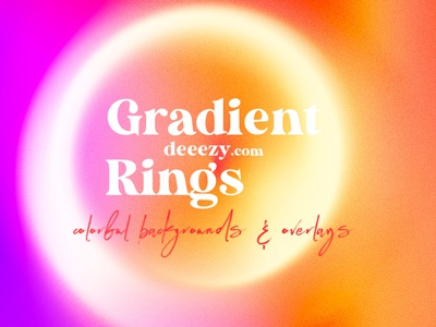 Free Color Gradient Rings & Overlays overlay photo effects color photo effects free photo effects free overlays circle gradient ring gradient backgrounds color gradient free textures free backgrounds deeezy free graphics freebie free
