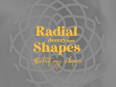 Free Abstract Radial Shapes free shapes logo shapes abstract shapes linear geometric shapes circle radial freebies logo deeezy free graphics freebie free