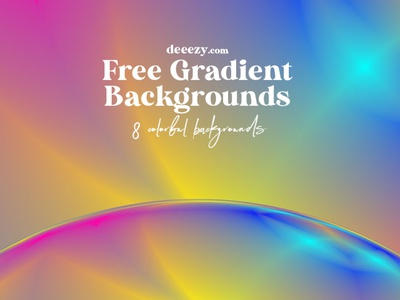 Free Creative Gradient Backgrounds branding ui abstract backgrounds colorful backgrounds modern backgrounds vivid colors color gradient free backgrounds design deeezy free graphics freebie free