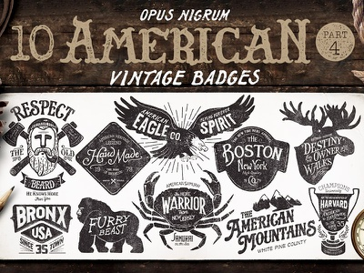 549 logo/badge/insignia templates deal dealjumbo bundle logo badge insignia download retro vintage template typography branding
