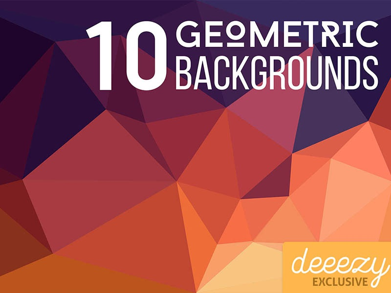10 FREE Geometric Backgrounds creative abstract polygonal geometric wallpaper background free backgrounds free download freebie free
