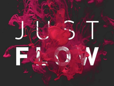 Just Flow - 4 Free PSD Templates color water free download downloads free photos free mockup typography logo font freebies free deeezy