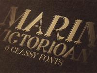 Free Font - Marin Shadow