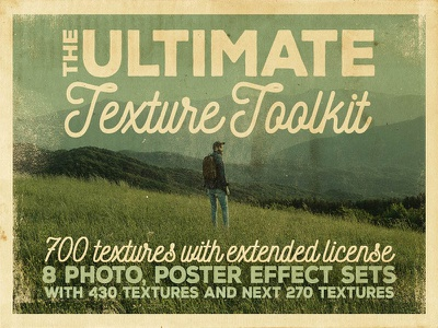 The Ultimate Texture Toolkit vintage effects grunge textures grunge effects grunge photo effects photography effects backgrounds textures vintage retro