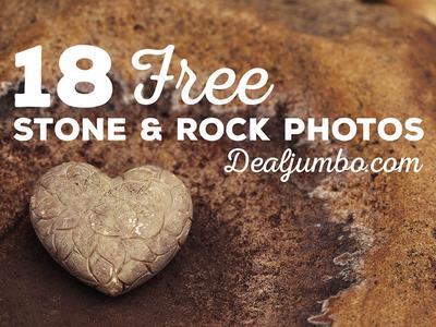 18 FREE Stone & Rock Photos