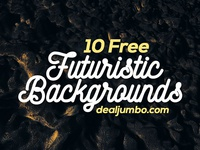 10 FREE Futuristic 3D Backgrounds