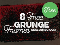 8 Free Grunge Frames