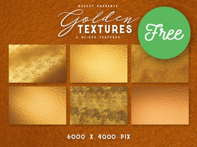 6 Free Golden Textures grunge abstract gold golden free download backgrounds textures free backgrounds free textures free graphics freebie free
