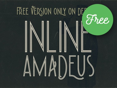 Amadeus Inline – Free Font