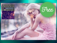 10 FREE Overlay Backgrounds 4