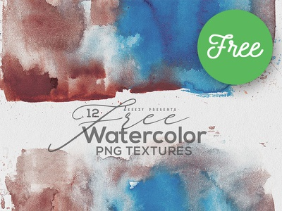 12 Free Abstract Watercolor Textures free watercolor shapes backgrounds shapes textures grunge artistic abstract watercolor free shapes free textures free graphics free