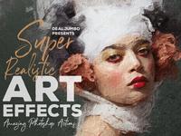 Super Realistic Art Effects