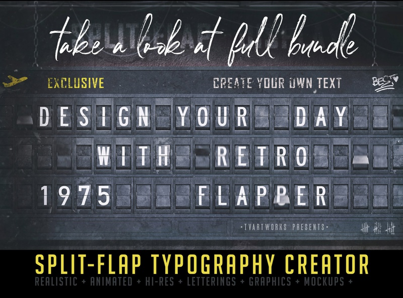 Free Split Flap Numbers retro typography free download wooden numbers free lettering free typography deeezy retro vintage free font font free graphics typography freebie free