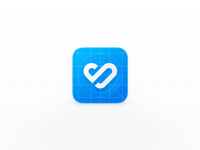 Early Access Icon blueprint illustration application graphic app branding design logo beta icon