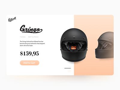 El Gringo - Product Details Card shadow gradient ui motorcycle product card product details