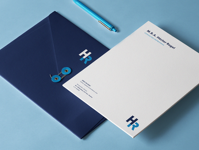 HR stationery business cards businesscard monogram minimal clean accountant accounting logotype logo identity branding brand stationery design stationery