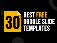 Free google slide template